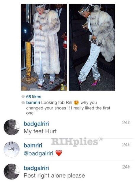 Rihanna Best Instagram Posts