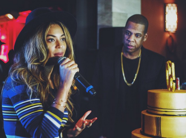 Beyonce and Jay Z singing Instagram