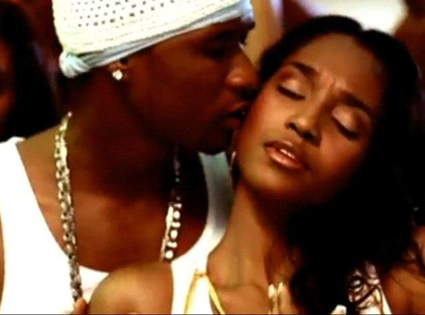 Chilli and Usher in U Remind Me Video