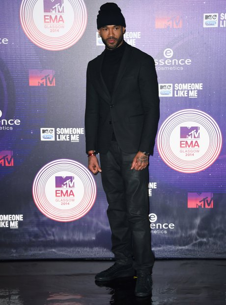 Mr Probz MTV EMAs Arrivals 2014