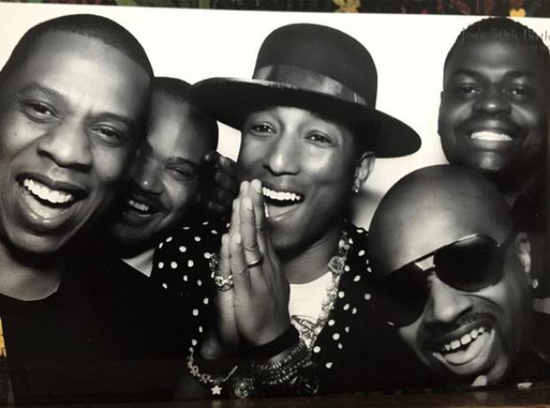 Pharrell Jay Z