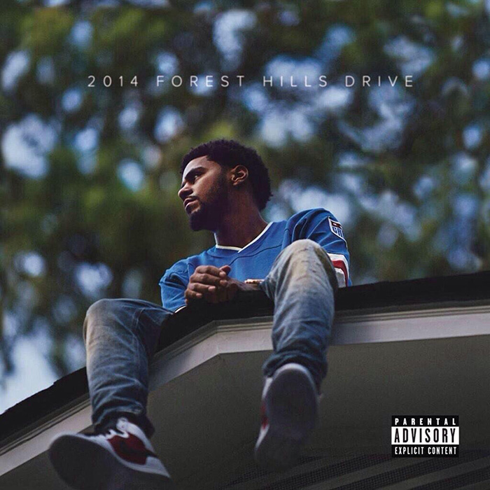 J Cole 2014 Forest Hills Drive