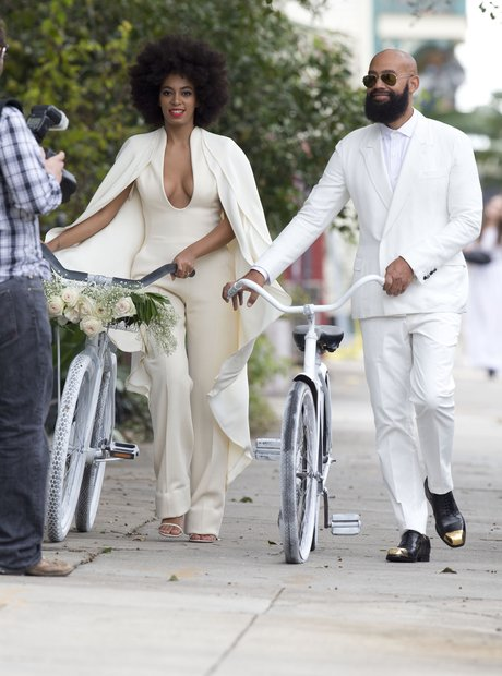 Solange Knowles and Alan Ferguson wedding