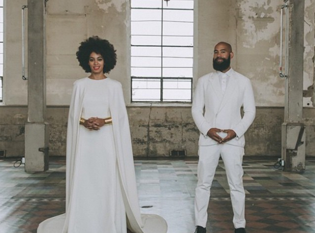 All The Photos You Need To See From Solange Knowles' White Wedding