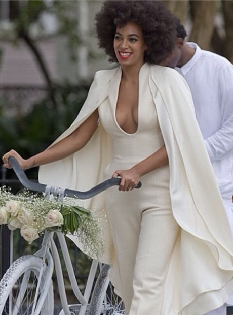 All The Photos You Need To See From Solange Knowles White Wedding