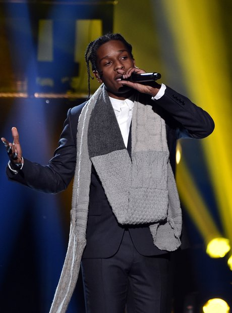 ASAP Rocky on stage American Music Awards 2014