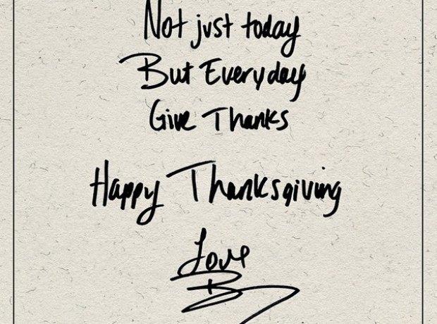Beyonce Thanksgiving