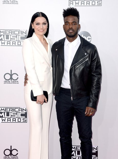 Jessie J and boyfriend Luke James AMAs 2014