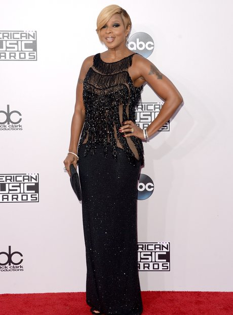 Mary J. Blige American Music Awards 2014