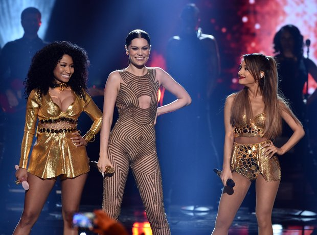 Nicki Minaj, Jessie J and Ariana Grande