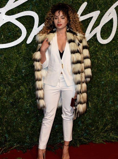 Ella Eyre British Fashion Awards 2014
