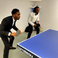 Image 8: Tinie Tempah playing Table Tennis