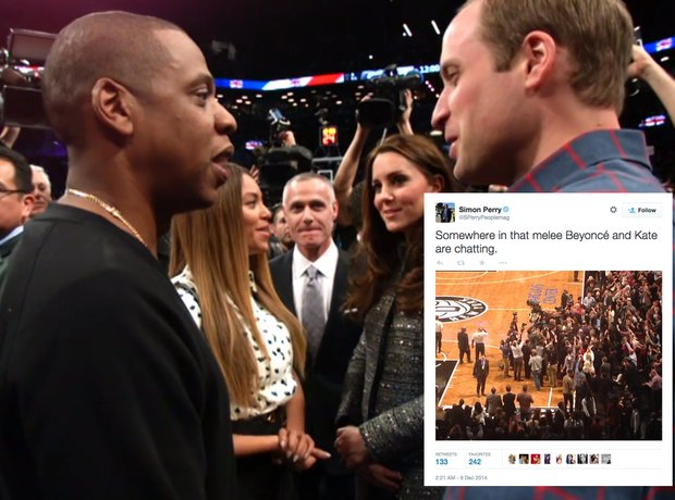 Beyonce and Jay Z royal tweets