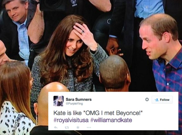 Beyonce and Jay Z royal tweets