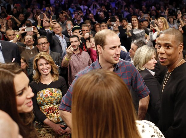Beyonce, Jay Z, Kate Middleton, Prince William