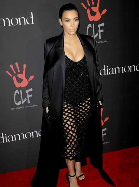 Kim Kardashian attends the Diamond Ball
