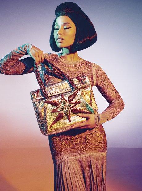 Nicki Minaj Roberto Cavalli 2014