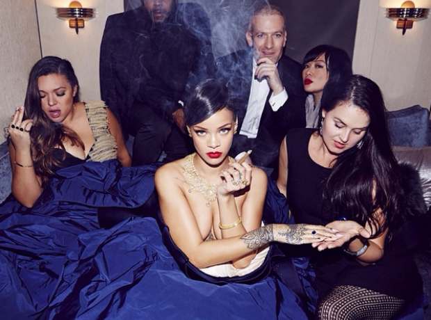 Rihanna diamond Ball 2014