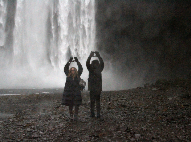Beyonce and Jay Z Iceland 2014