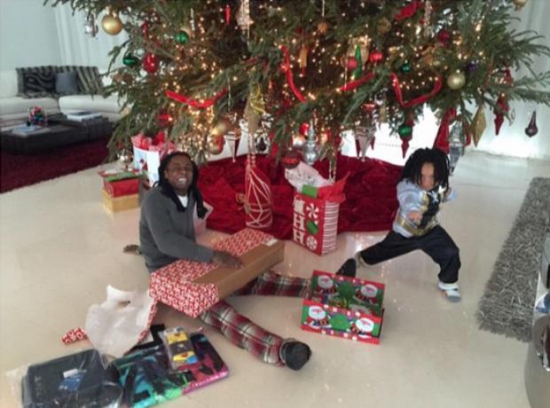 Lil Wayne Christmas 2014