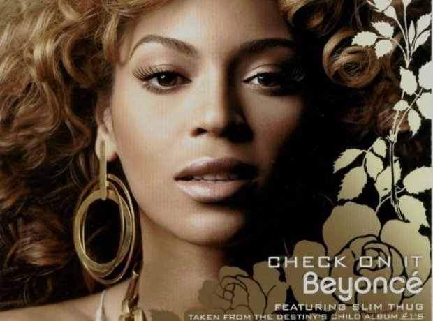 Beyonce - 'Check On It' artwork