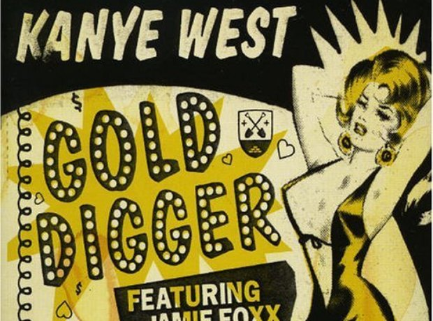 Kanye West - 'Gold Digger' artwork