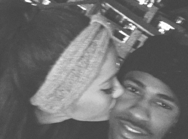 Big Sean and Ariana Grande holiday Tahoe