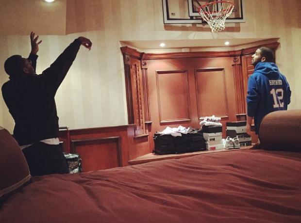 Drake's bedroom