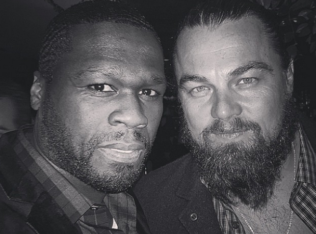 50 Cent and Leonardo DiCaprio