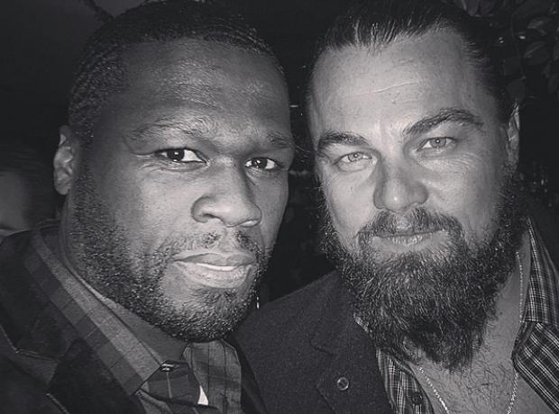 50 Cent and Leonardo DiCaprio
