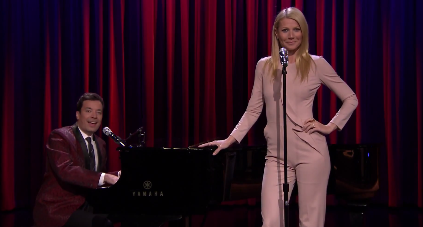 Jimmy Fallon and Gwyneth Paltrow