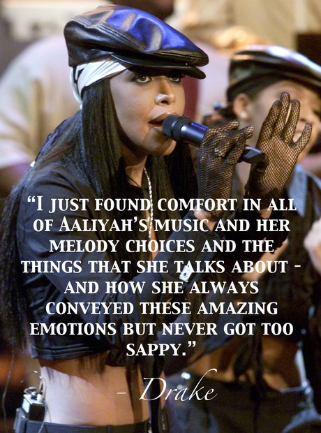 Quotes about Aaliyah