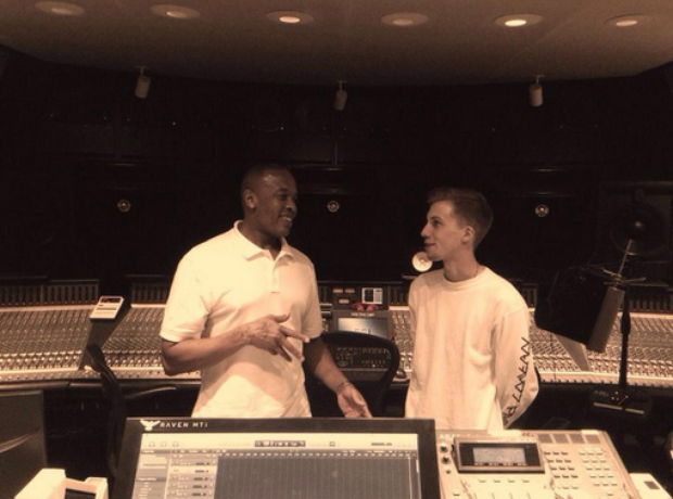 Dr Dre and Protege JT