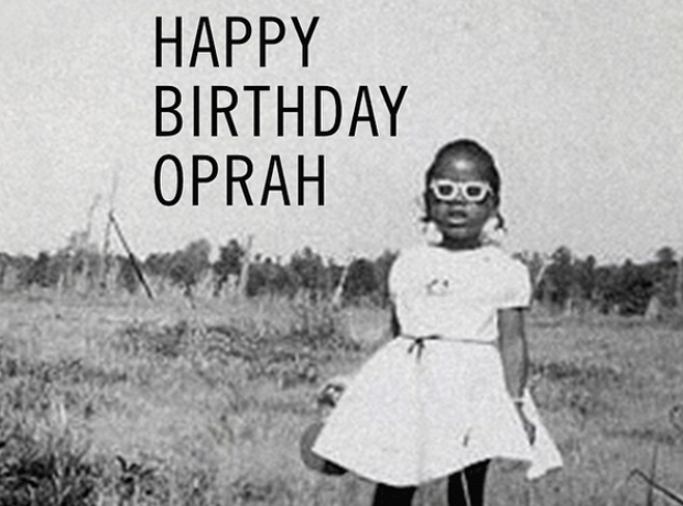 Happy birthday Oprah (from Beyonce)