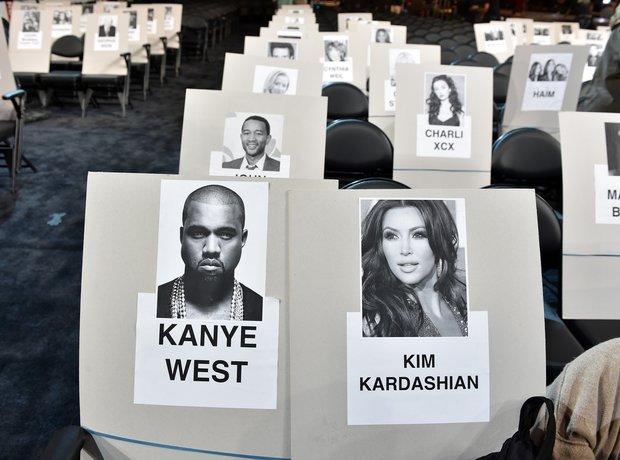 Grammy Awards Seating Plan 2015