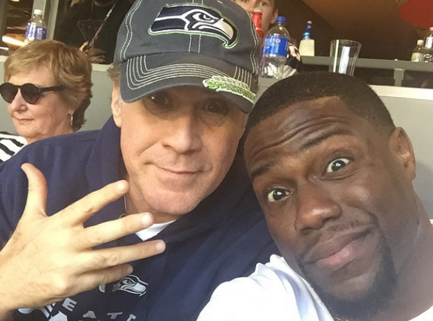 Kevin Hart and Will Ferrell Super Bowl 2015