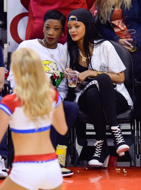 Melissa Ford and Rihanna