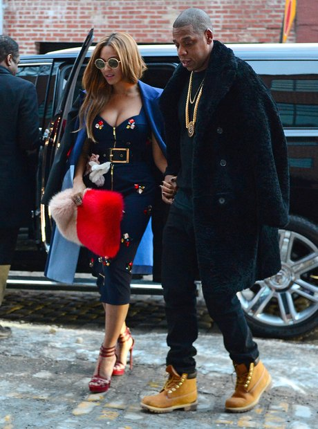 Beyonce and Jay z in New York
