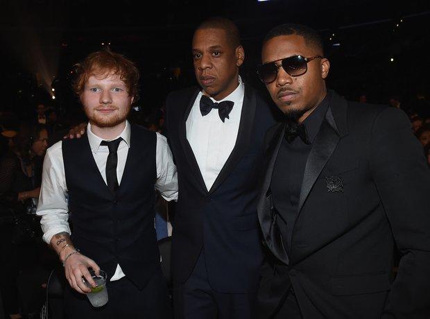 Ed Sheeran, Jay Z and Nas