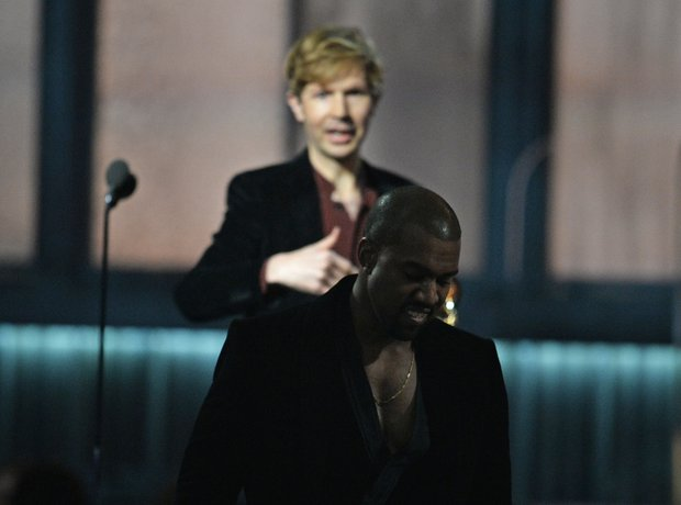 Kanye West and Beck