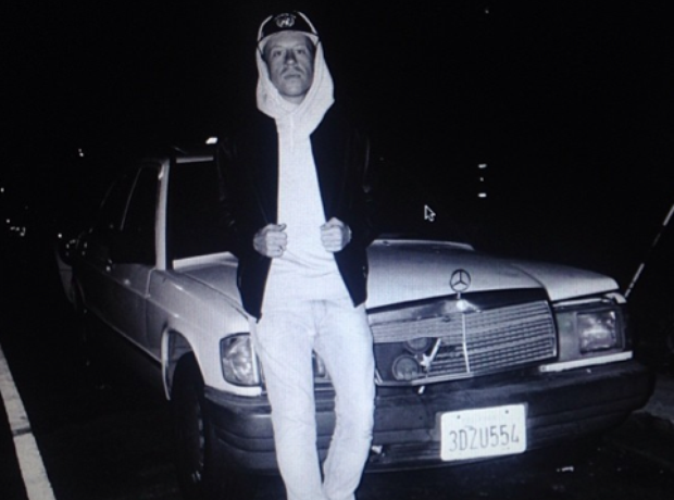 Macklemore and his Mercedes