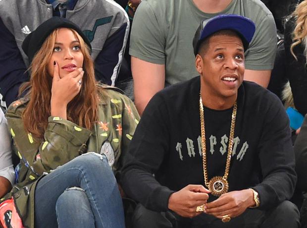 Beyonce Jay Z NBA