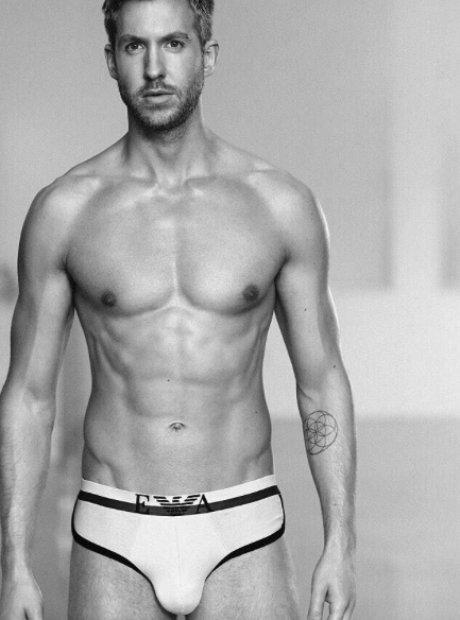 Calvin Harris Emporio Armani Underwear