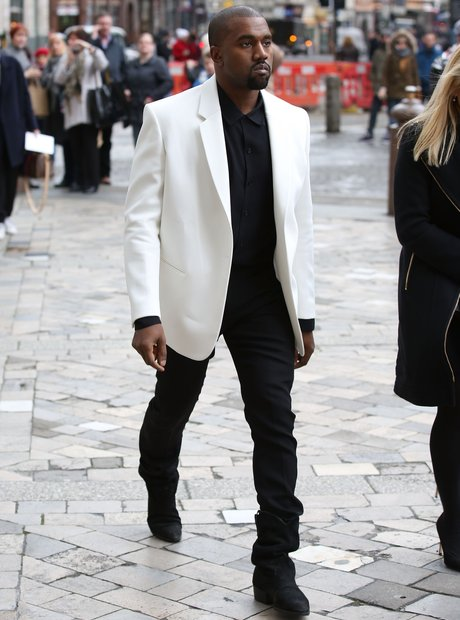 Kanye West London Fashion Week