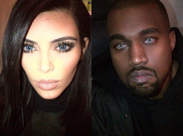 Kim and Kanye Contact Lenses
