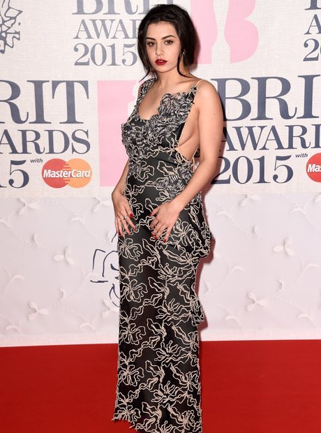 Charli XCX BRIT Awards 2015 Red Carpet