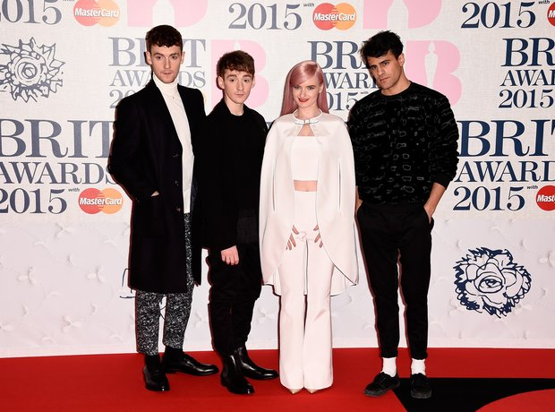 Clean Bandit BRIT Awards Red Carpet  2015