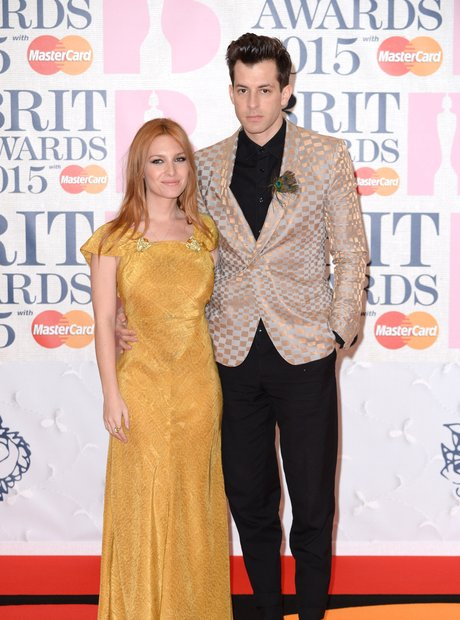 Mark Ronson and Josephine de La Baume BRIT Awards