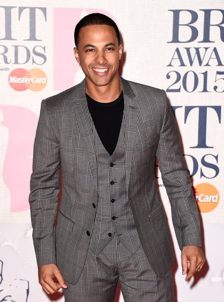 Marvin BRIT Awards Red Carpet 2015
