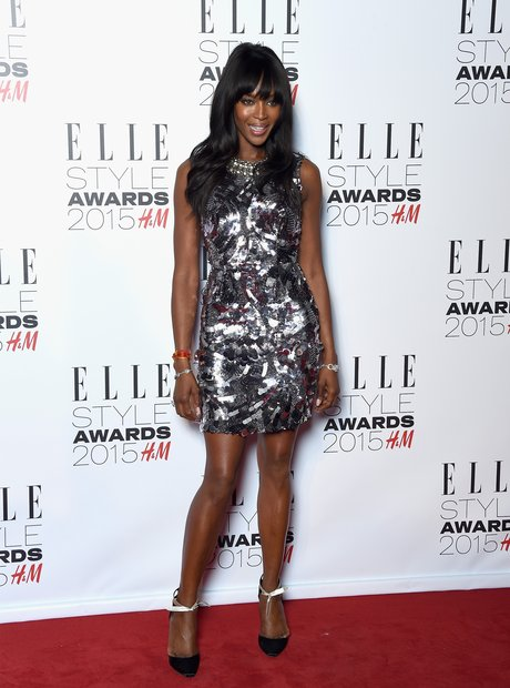 Naomi Campbell at the Elle Style Awards 2015